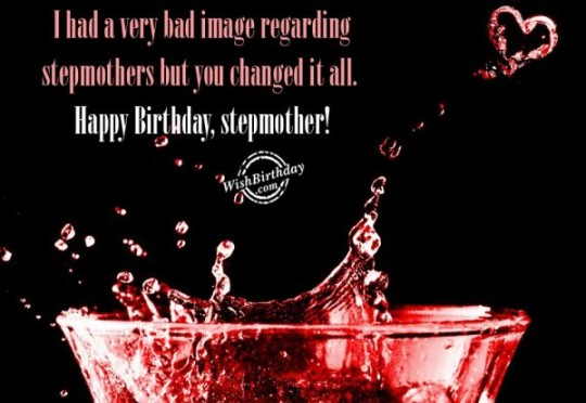Superb Stepmother Birthday Greetigs With Best Wishes For Her