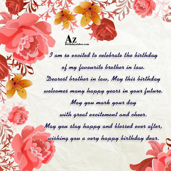 Supreme birthday greetings e card for my brother in law nicewishes supreme birthday wishes greetings e card for my brother in law m4hsunfo