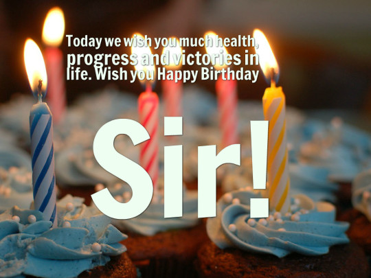 Supreme Images For Birthday Wishes With Sayings E-Card For My Boss E7