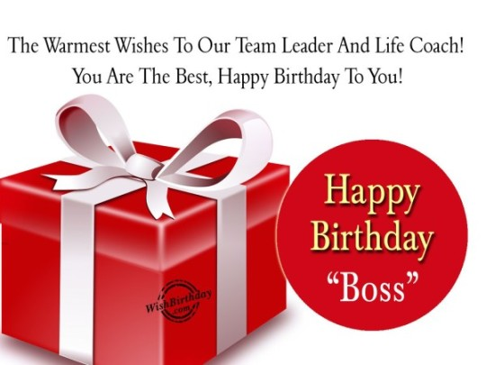 Surprising Birthday Wishes E-Card With Greetings For Boss