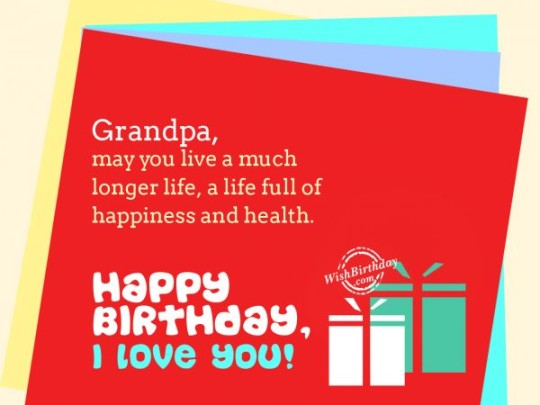 Surprising Birthday Wishes With Quotes For My Grandfather 7s