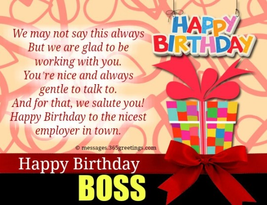 Surprising Images For Birthday Wishes With Sayings E-Card For My Boss E7
