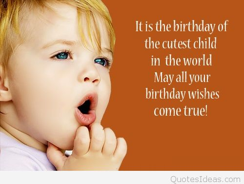 Sweet Birthday Wishes With Image For My Adorable Baby Boy