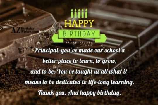 Sweet Chocolate Birthday Message E-Card Greetings