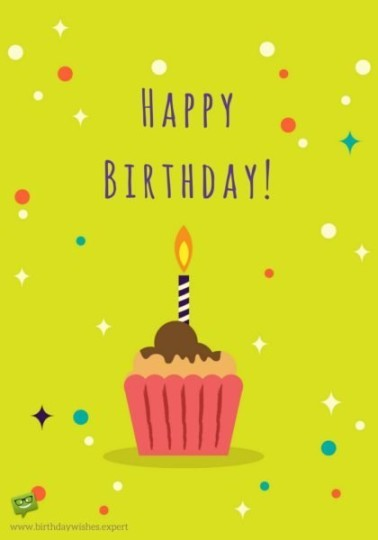 Sweet Cupcake Birthday Wishes With Best Images for Boys
