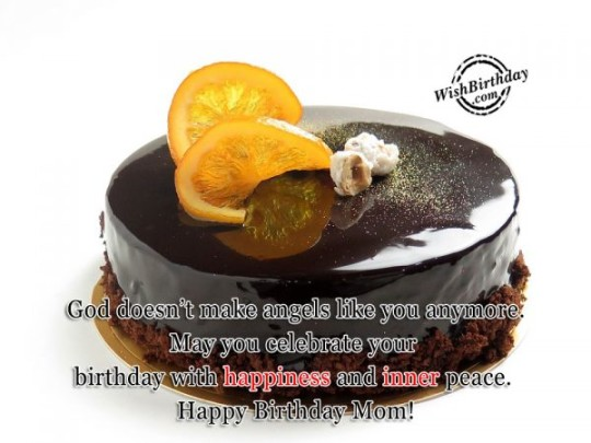 Sweet  Image For Best Mom Birthday Wishes