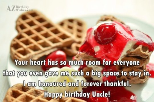 Sweet Uncle Birthday Wishes With Greeting E-Card o6