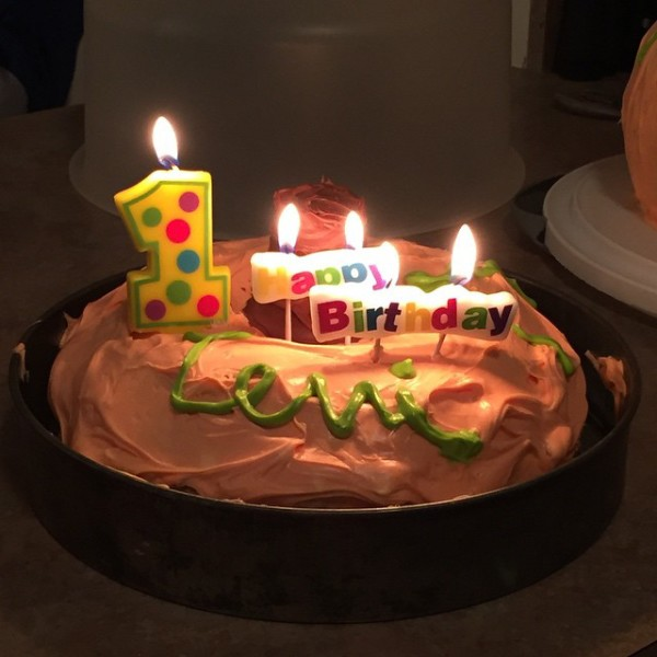 Thrilling 1st Birthday Wishes With Candles Light Cake Nicewishes