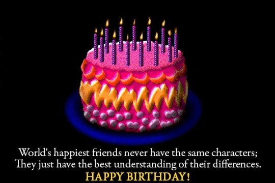 Thrilling Birthday Message With Wishes E-Card s7