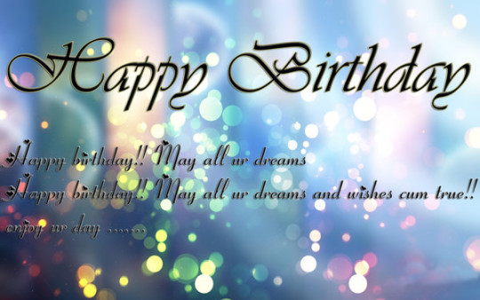 True Dreams Birthday Wishes E-Card With Greetings Image 7s