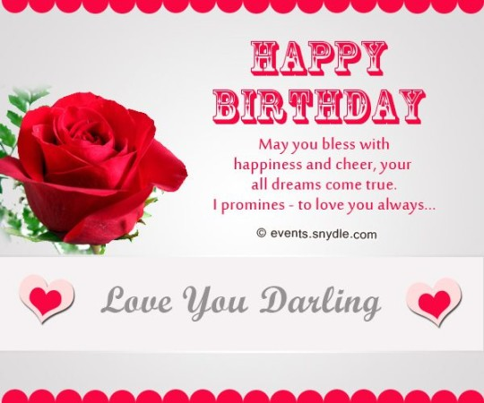 True Dreams Birthday Wishes For Boyfriend With Flowers Greetings