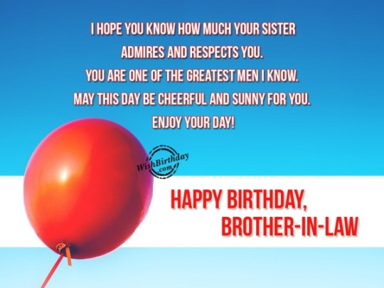 Unique Balloons Birthday Card With Brother Quotes