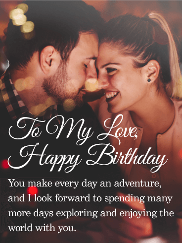 Unique Birthday Wishes With Romantic Moments For My Wife 7s