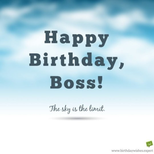 Universal Color Images For Birthday Wishes With Sayings E-Card For My Boss E7