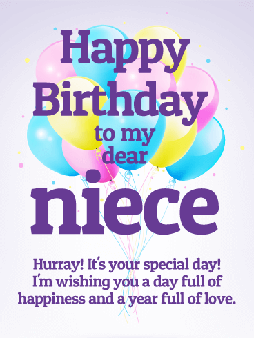 Wishing A Awesome Day Of Niece Birthday 121s87