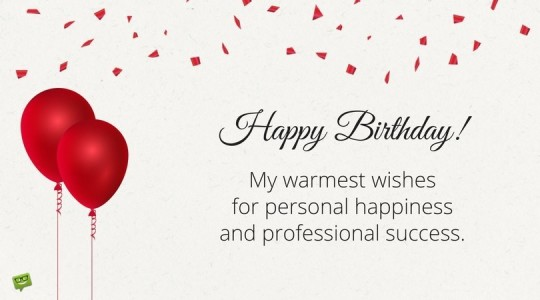 Wonderful Boss Birthday Wishes With Image E74s