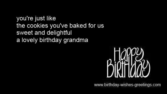 Wonderful Wishes For My Grandma Birthday