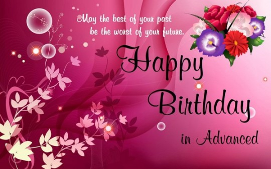 Wondrous Birthday Wishes E-Card With Greetings Image 7s (2)