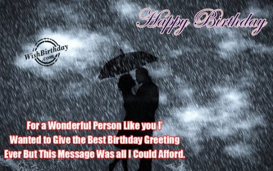 Wondrous Birthday Wishes For A Great Day