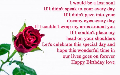 Wondrous Birthday Wishes For Boyfriend With Ever Love 47h4gh4