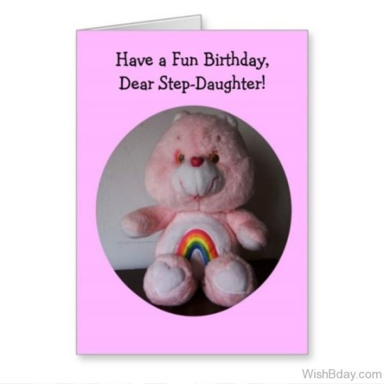 Wondrous Birthday Wishes For Stepdaughter E-Card