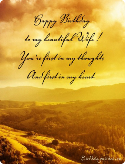Wondrous Birthday Wishes With Greetings Quotes For My Wife 7s