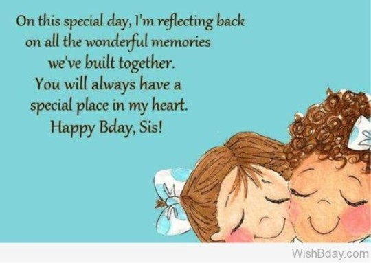 Wondrous Birthday Wishes With Joy For My Sister