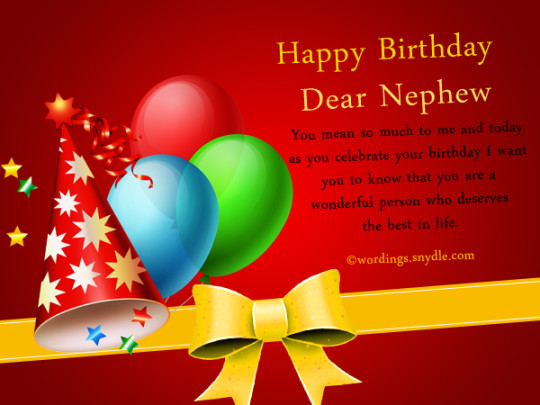 Wondrous Brilliant Birthday Greeting Card For Best Nephew_E-Card_156jf4jf6uri7s