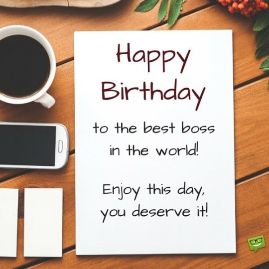 Wondrous Images For Birthday Wishes With Sayings E-Card For My Boss E7