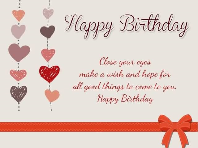Happy Birthday Wishes E Card With Wonderful Wishes For Employee Should I Wish My Ex A Happy Birthday