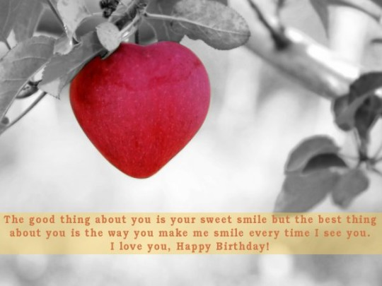 special Images For Birthday Wishes With Sayings E-Card For My Life